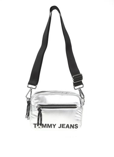 Tommy Hilfiger Messenger / Askılı Çanta Gümüş